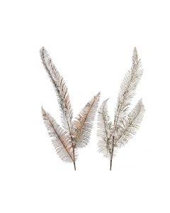 K Plc Fern Leaf W Glitter 2Colas Assortiment Per Stuk 19X80Cm