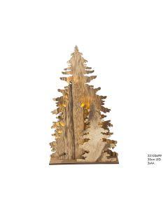 Deco Hout Bomen 35 Cm Led