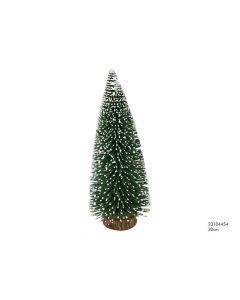 Kerstboom 30 Cm Houten Stand