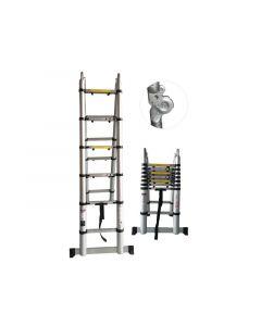 Telescopische Dubbele Ladder 5M … Treden