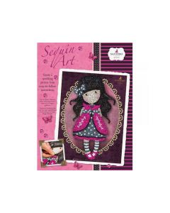 Sequin Art Gorjuss Ladybird