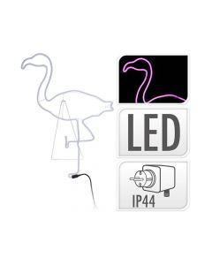 Verlichting Led Roze Flamingo