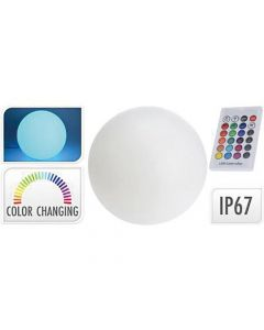 Led Bal 30Cm 12Led Lithium Batterij Remote 16 Colour Options