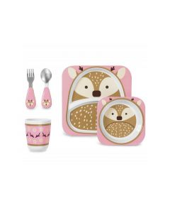 SKIP HOP ZOO WINTER DEER FEEDING SET