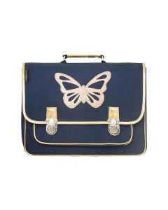 Cartable Groot Model Blauwe Vlinder