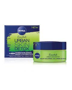 Nivea Essentials Urban Skin Detox Soin De Nuit / Nachtcreme 50 Ml
