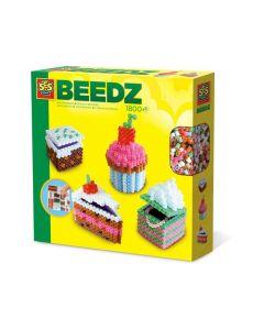 Ses Strijkkralen 3D Taartjes - Beedz
