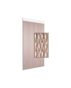 Gordijn Kunststof Art. 3 Transparant 100X230 Cm