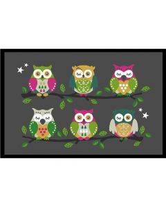 Joy@Mat In & Outdoor 40X60Cm Owls On A Tree