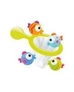 Visnet Met 3 Waterspuiters Vissen