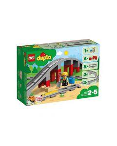 Lego Duplo 10872 Treinbrug En -Rails