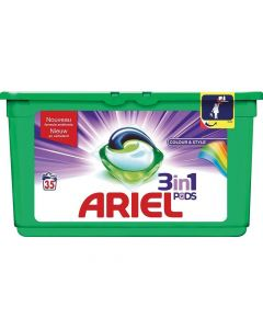 Ariel 3 In 1 Pods Color And Style 35St.
