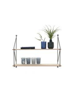 Frida Double Shelf H44.5Xd16Xw60Cm