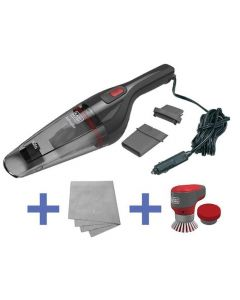 Black & Decker Auto Vac And Power Brush Combo