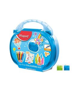 Maped Colorpeps Early Age Krijt Stiften + Poster