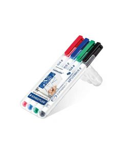 Lumocolor Whiteboard Pen Box 4 Stuks