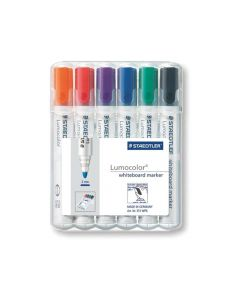 Lumocolor Whiteboard Marker Box 6 Stuks