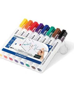 Lumocolor Whiteboard Marker Box 8 Stuks