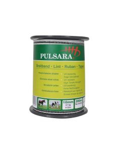 Pulsara Lint 10Mm 4 Rvs Geleiders, Wit, 200M