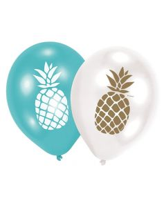 Party Display Xl Pineapple Vibes 6 Ballonen Pineapple Vibes 11 Inch 4C Print