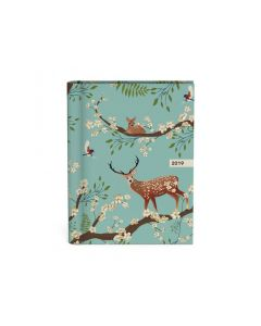 Agenda 12X16Cm Mixed Designs Deer