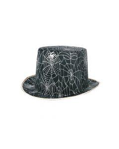 Tophoed Zwart + Zilver Web