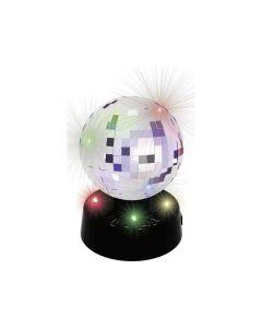 Lamp Spiegelbol 4Led 10Cm