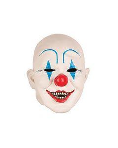 Masker Clown Wit Blauw