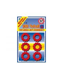 Wicke Ring-Amorces 12 Schots 24 Ringen