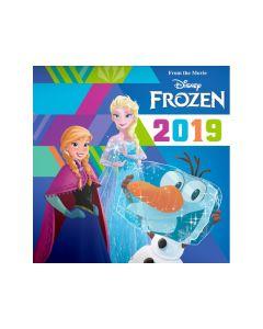 Kalender Frozen 30X30 - Incl Stickers