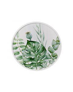 Wanddecoratie Mdf Rond Botanisch D60X3Cm