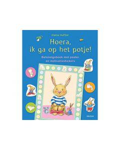 Kleine Huppel Hoera, Ik Ga Op Het Potje! (Poster + Motivatiestickers)