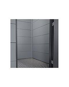 Telluria Eleganto Binnenwand 1,8X1,8M Flat Coat Grijs