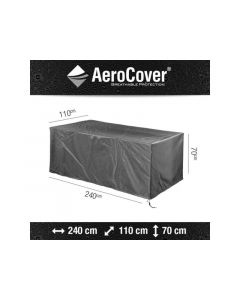 Aerocover Tafel Hoes 240X110Xh70Cm Anthraciet