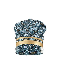 Elodie Details Winter Beanies Gilded Everest Feathers 0-6M