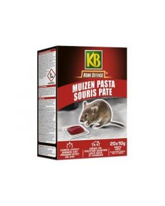 Kb Home Defense Rattolin Muizen Pasta 200Gr