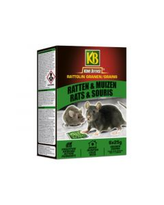 Kb Home Defense Rattolin Rat&Muis Granen 150Gr