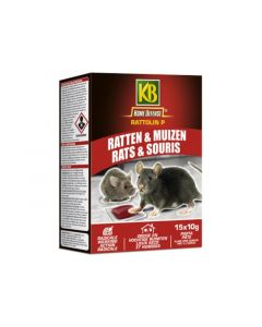 Kb Home Defense Rattolin Rat&Muis Pasta 150 Gr