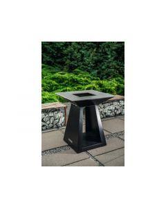 Quan Garden Art Quadro Basic Line Medium 80X80Cm H90Cm Carbon Zwart