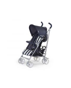 Buggy 5 Pos Alu Blue&White Retro Stripes + Rc+Bu