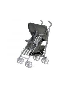 Buggy 5 Pos Alu Grey&White Retro Stripes + Rc+Bu