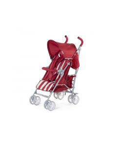 Buggy 5 Pos Alu Red&White Retro Stripes + Rc+Bu