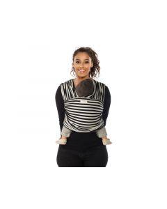 Tricot Slen Design Black And White Stripes