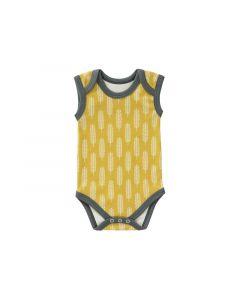 Fresk Romper Zonder Mouw Havre Vintage Yellow Size: Newborn
