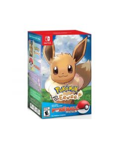 Nintendo Switch Pokemon - Lets Go Eevee + Pokeball Plus