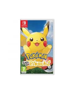 Nintendo Switch Pokemon - Lets Go Pikachu