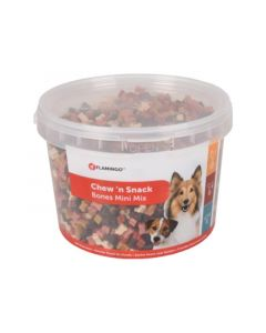 Flamingo Chew'N Snack Mini Bones Mix 1,8Kg