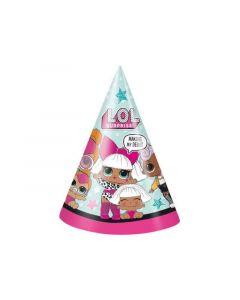 Lol Surprise Party Hats 8 Stuks