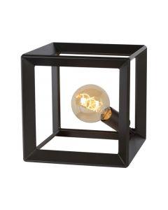 Lucide Thor Tafellamp E27 25/25/25Cm Metaalgrijs
