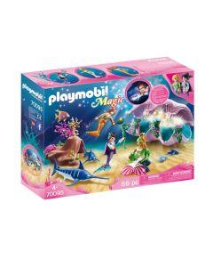 Playmobil 70095 Nachtlamp In Schelp Met Meerminnen